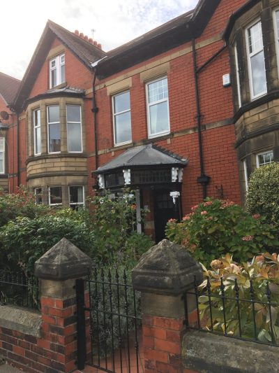 Gosforth house where Robert Whitfield Falconer lived