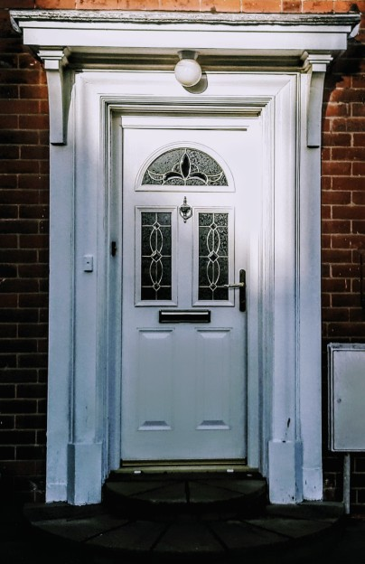 Front Door of House in Elgy Road