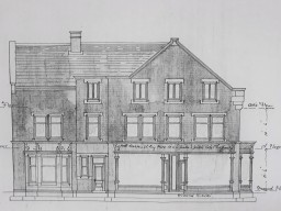 Building elevation Discovering Heritage Gosforth