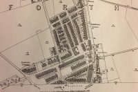 Old map of Gosforth.