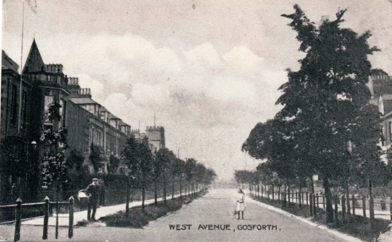 Old photo of Gosforth