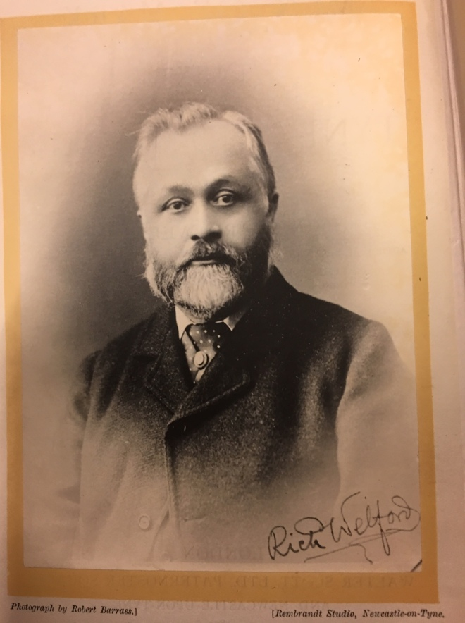 Portrait photograph of Richard Welford