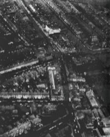 Look At Gosforth. Aerial view of Gosforth published in the Newcastle Journal Dec 1969 article by Heather Smith