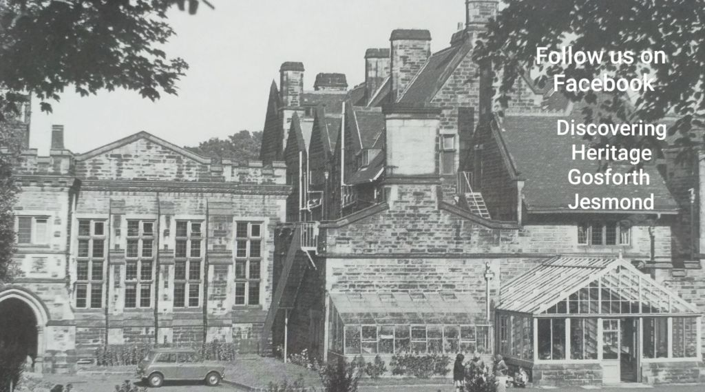 Newcastle Libraries Jesmond Dene House photo c1964