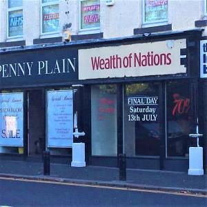 Penny Plain Gosforth High Street