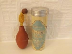 Handbag sized Athsma inhaler 1950s