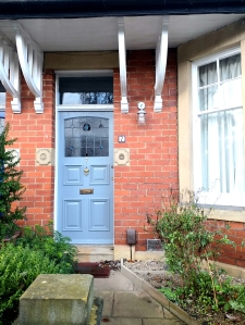 Front door of a property that Discovering Heritage have researched the history of.