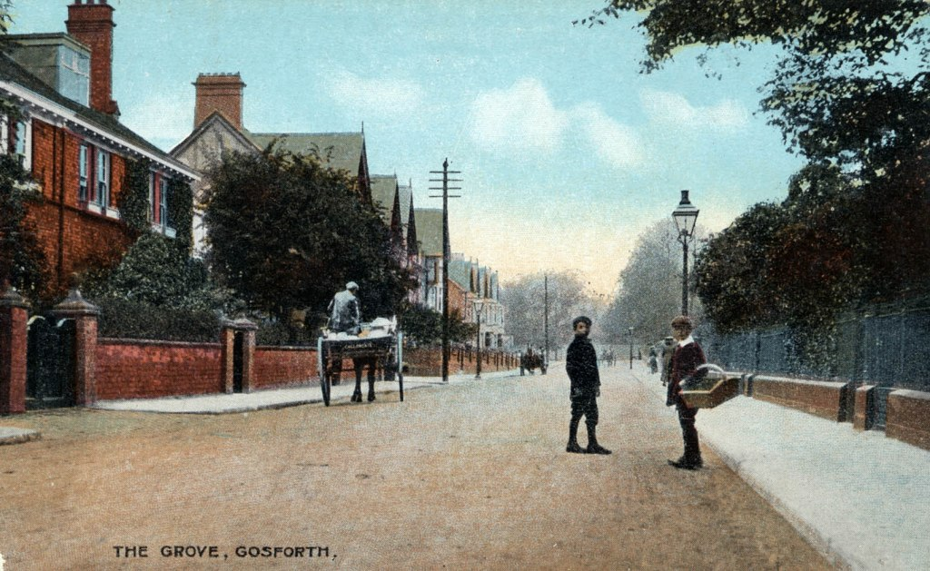 Gosforth Heritage Postcard of The Grove