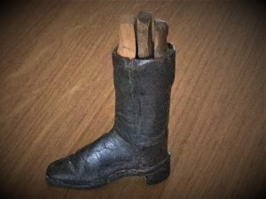 Newcastle Guild of Cordwainers apprentice boot Piece.