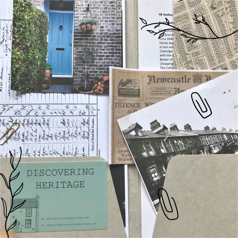 Discovering Heritage House Histories