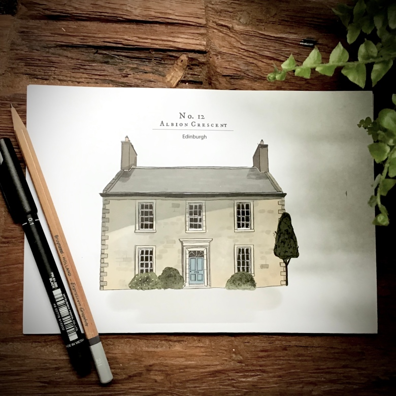 Colour House Portrait in Little Histories Shop