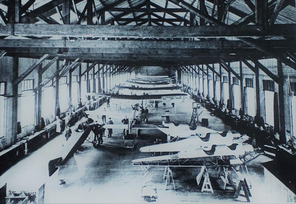 Newcastle Libraries B.E.2c Aircraft 1915 Gosforth