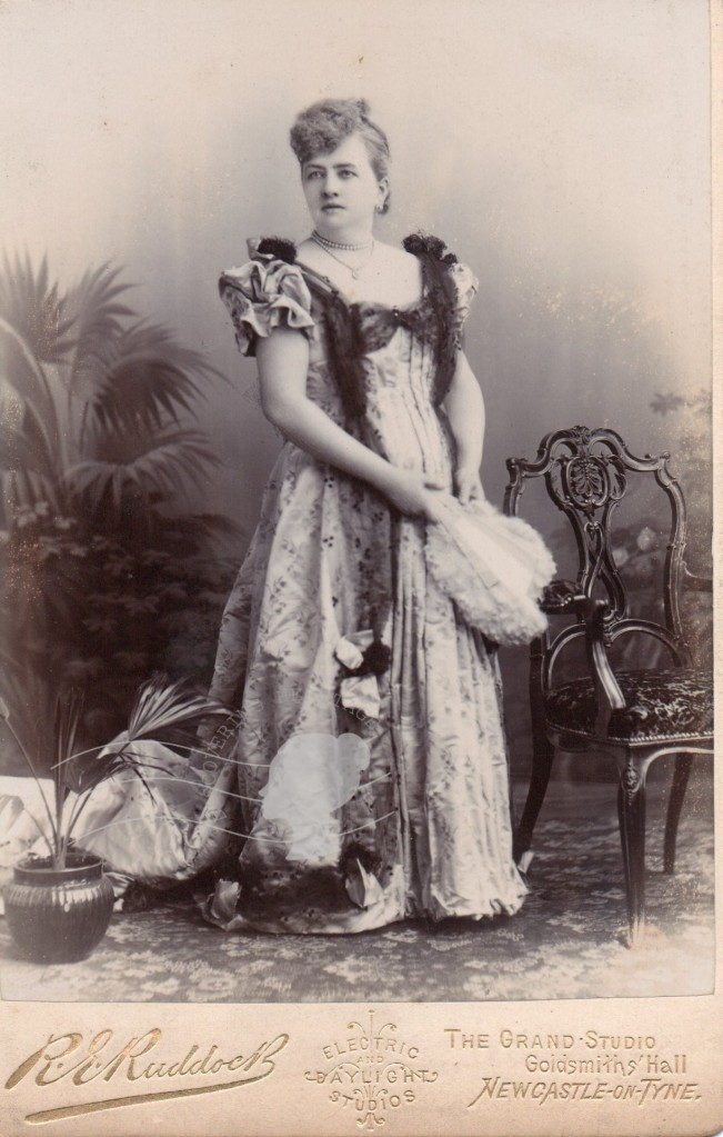 Dr Gibb of Sandyford Park. Photo of wife Elizabeth - Discovering Heritage
