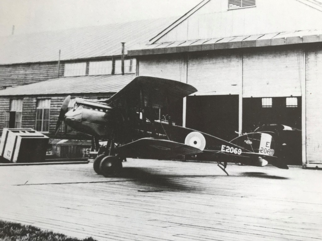 Bristol F2B fighter Gosforth Newcastle libraries