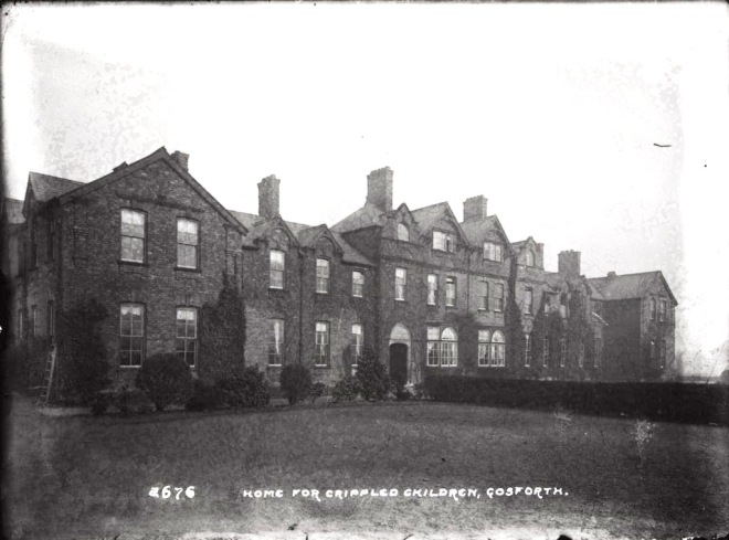 Northumbria Archive Sanderson Hospital for Discovering Heriage