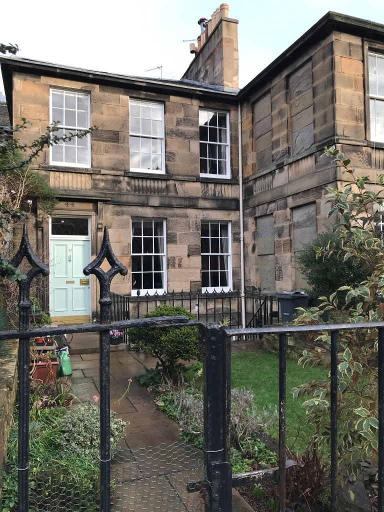 My Scottish Townhouse Story Ann Street house ©Discovering Heritage